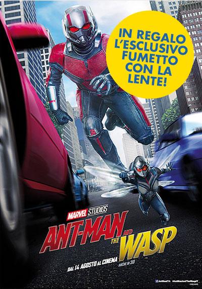 AntMan and the wasp Locandina